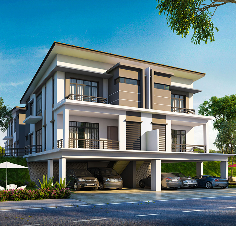 Raintree Residences Phase 2 - Double Storey Cluster with Lower Ground