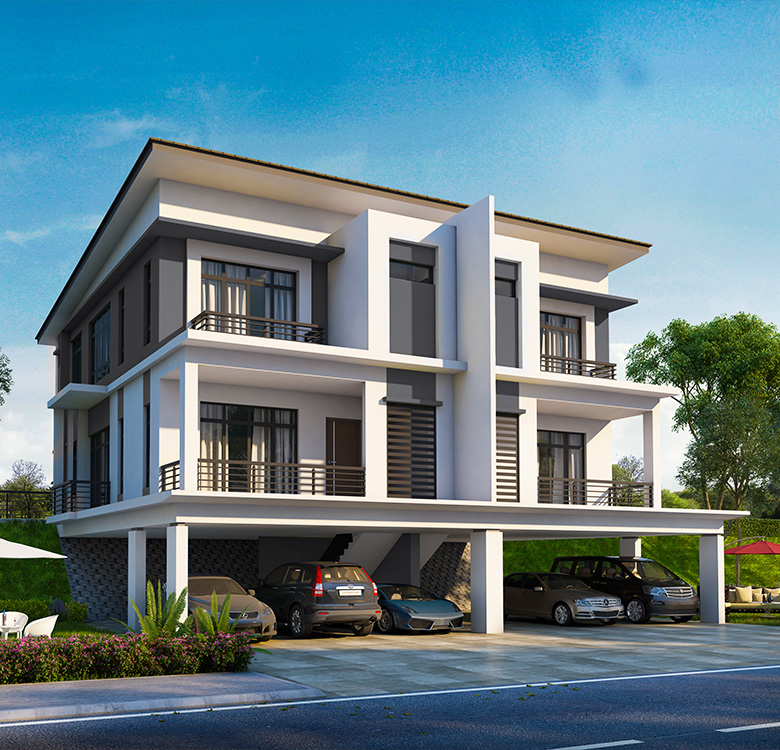 Raintree Residences Phase 2 - Double Storey Semi-Detached with Lower Ground